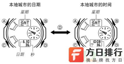 卡西欧手表如何设定日期 卡西欧手表怎么调时间gshock黑金