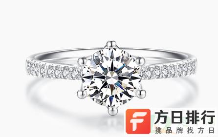 周大福1克拉钻戒还是买Tiffany50分钻戒 1克拉钻戒多少钱周大福