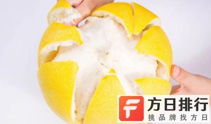 柚子皮除了吃还能干嘛 柚子怎么剥好看