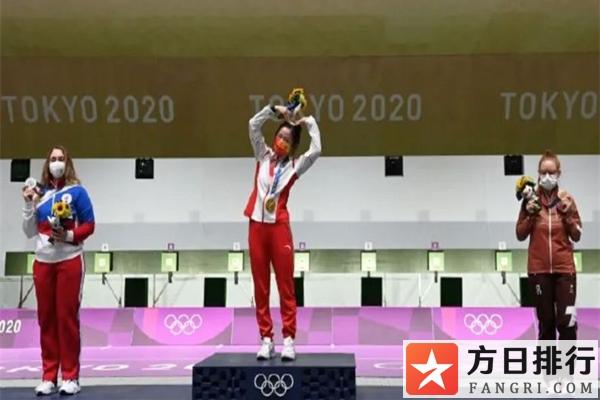 杨倩是生活照甜美的00后清华学霸 东京奥运第一首国歌是中国的