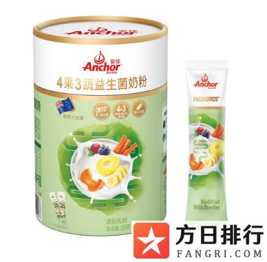 安佳4果3蔬益生菌奶粉好用吗 安佳4果3蔬益生菌奶粉怎么样