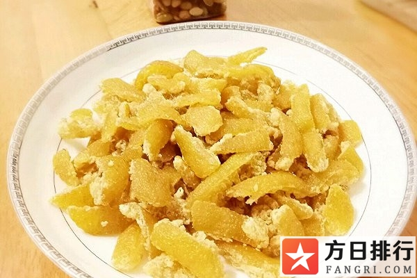 柚子皮糖的制作方法 吃柚子皮糖的好处