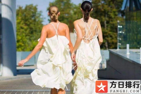 吊带裙区分前后方法 吊带裙怎么分前后