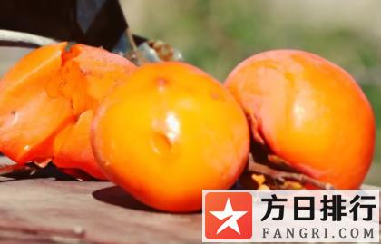 柿子的糖分高吗健身可以吃吗 柿子的热量是多少